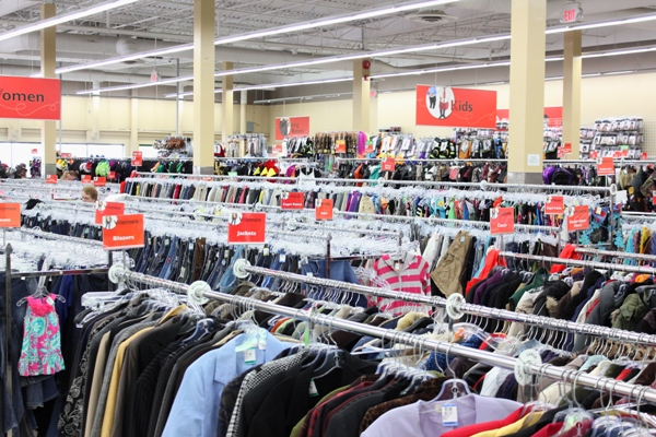 Value Village massive selection