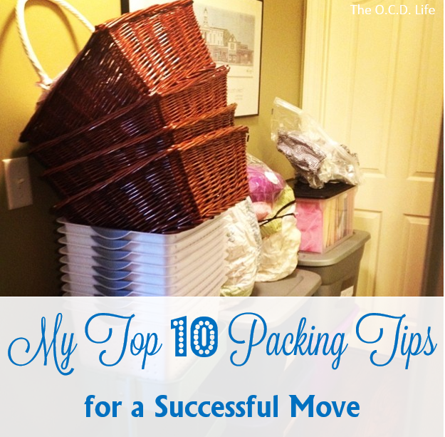 Kristin's Top 10 Packing Tips for a Successful Move