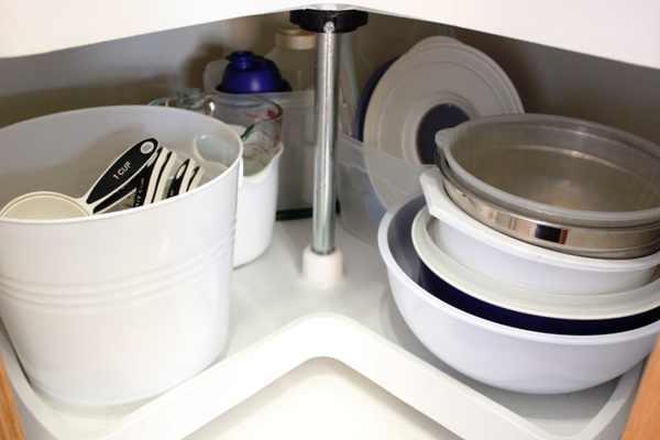 All My Baking Supplies Are In One Cupboard Now, Including All The Bowls And  Measuring Cups. So Much Better!