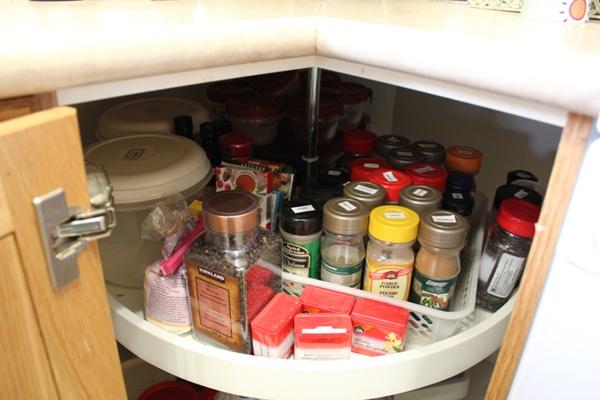 Lazy Susan Spice Rack Magnificent Organizing Lazy Susans