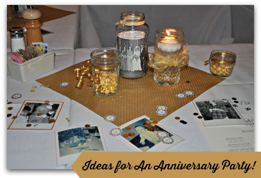 Organizing an inexpensive anniversary party
