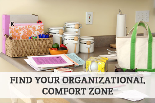 Find Your Organizational Comfort Zone