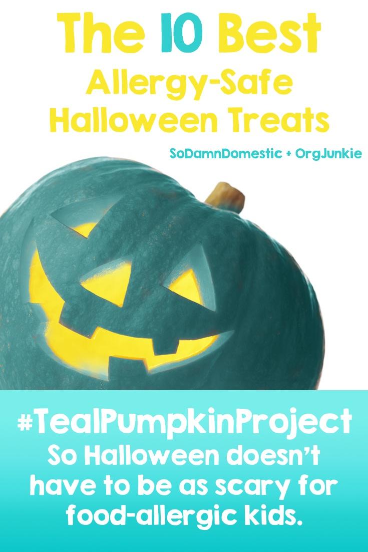 Teal Pumpkin Project - The 10 Best Allergy-Free Halloween Treats