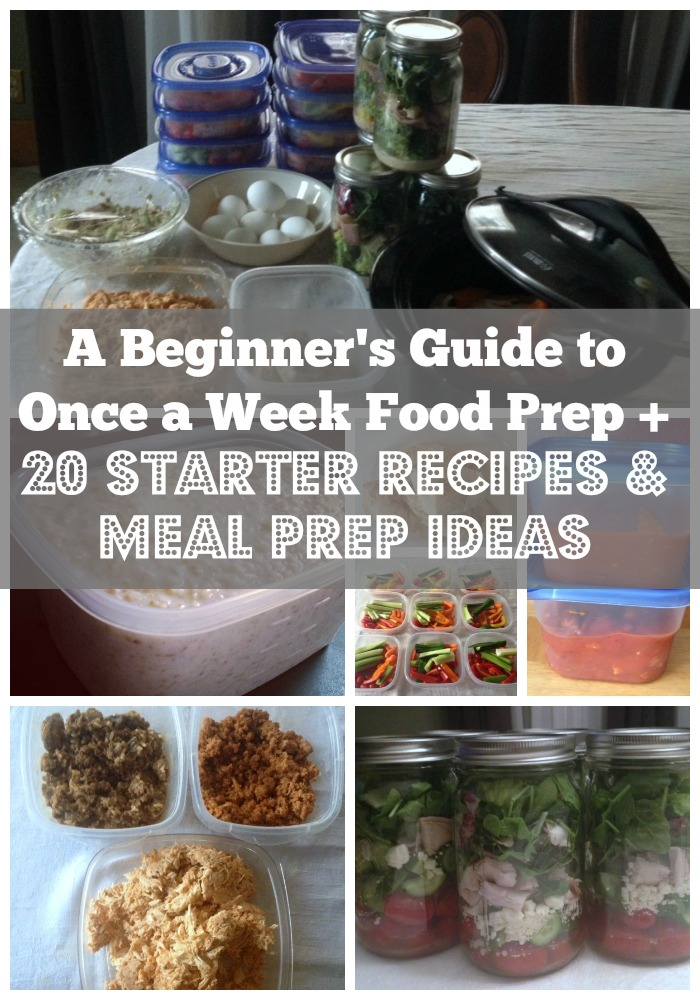 beginnerfoodprepcollage