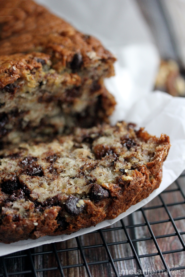 chocolate chip walnut banana bread 3