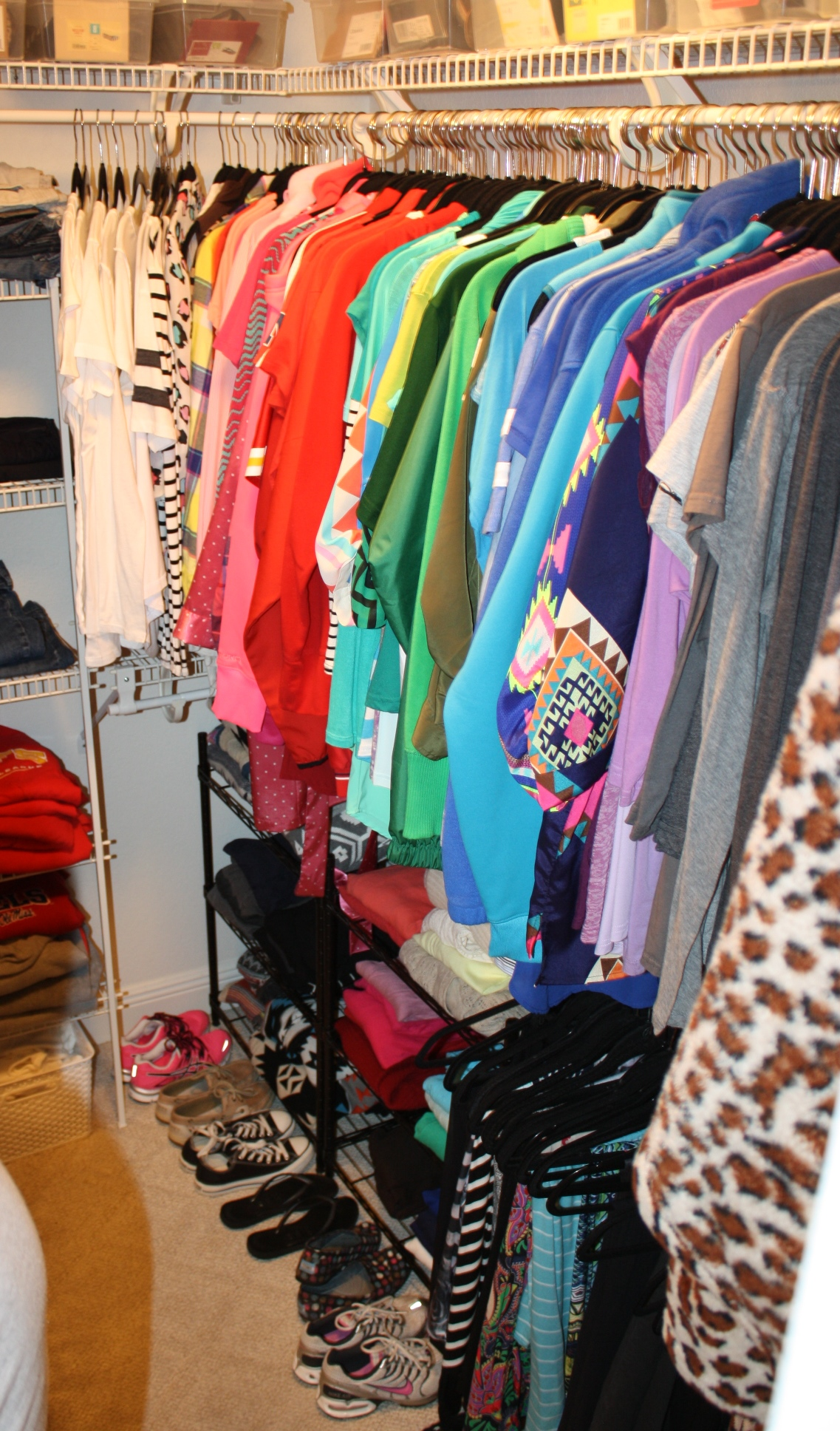 the gold project closet organization 3