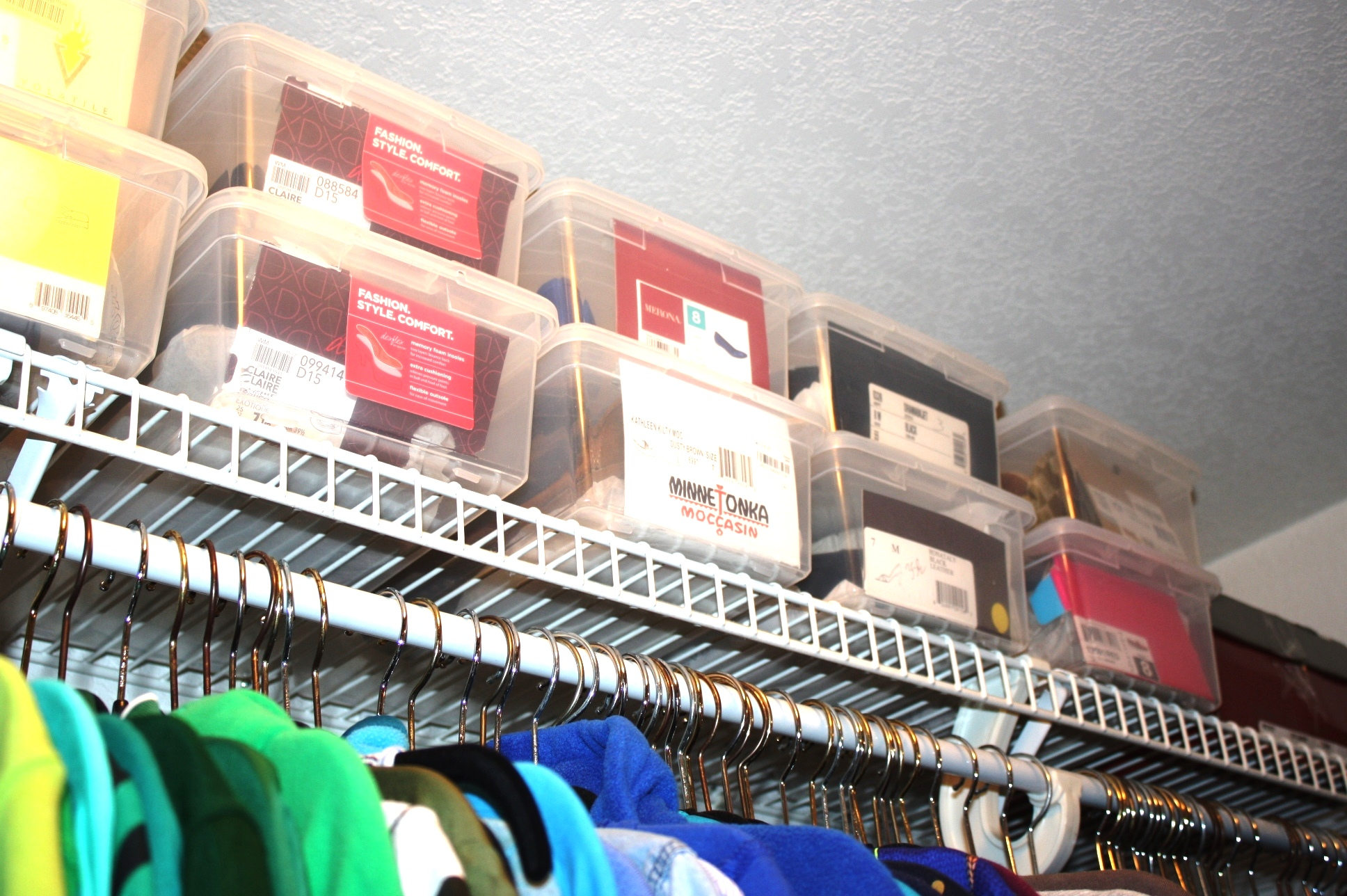the gold project closet organization 7