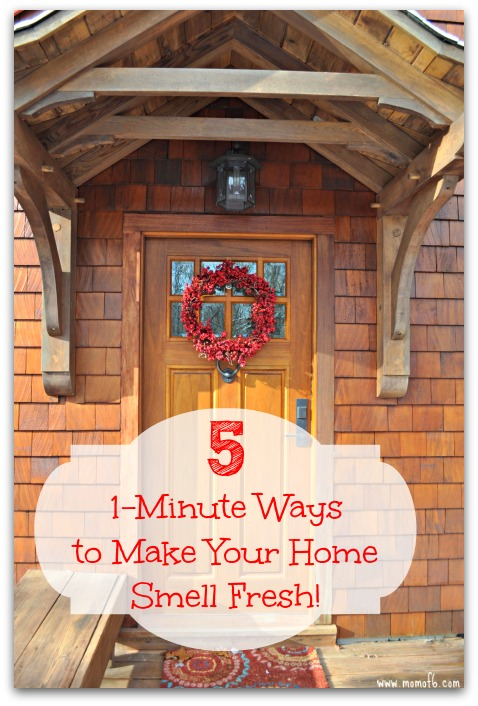 5 1 Minute Ways To Make Your Home Smell Fresh