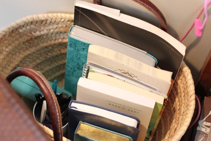 Living Room Quiet Corner Organization 14