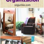 Top Organizing Bloggers Family Room Tour: Quiet Time Corner Organization