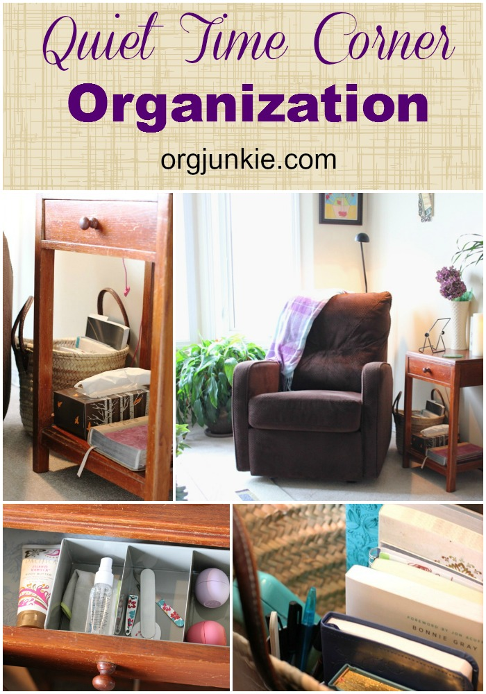 Organizing Living Room. Top Organizing Bloggers Family Room Tour  Quiet Time Corner Organization jpg
