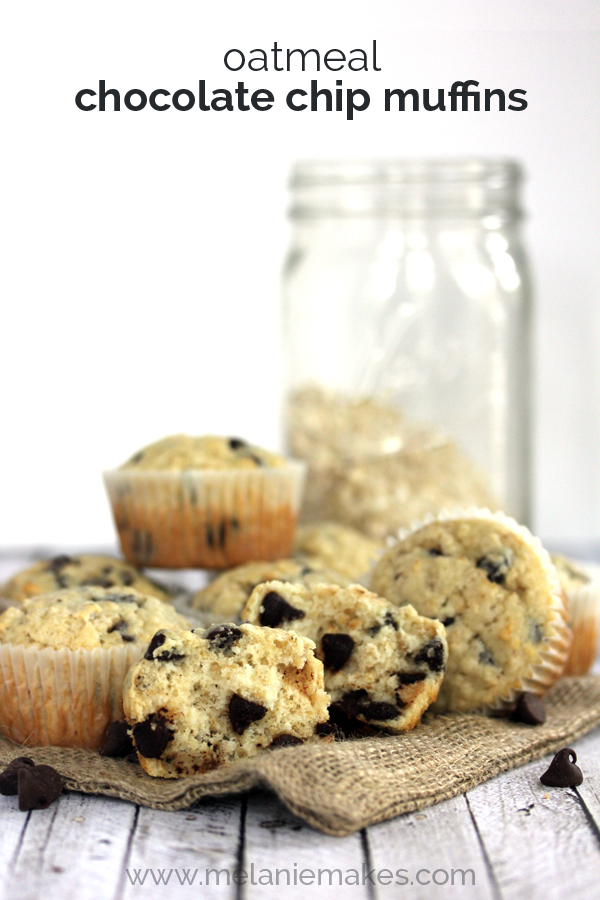 Oatmeal Chocolate Chip Muffins Recipe — Dishmaps