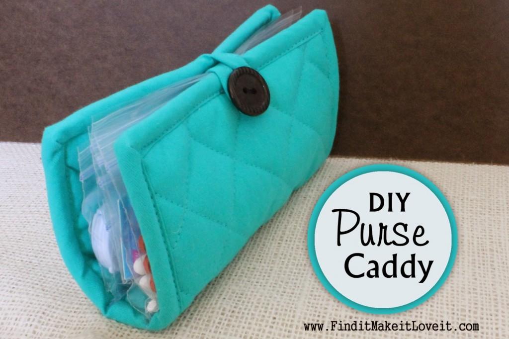 DIY Purse Caddy