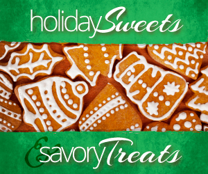Holiday Sweets and Savory Treats Blogger Recipe Exchange