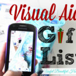 Visual Aid Gift List Tracking