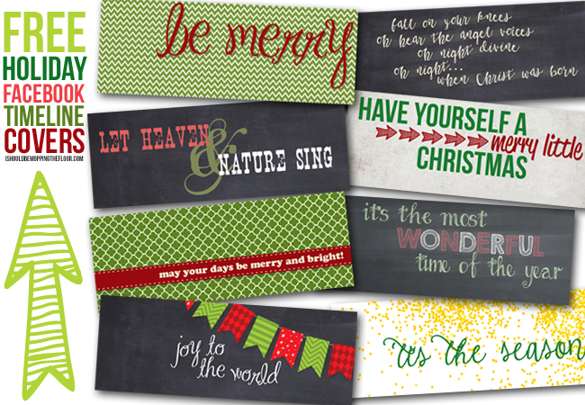 holiday facebook timeline covers