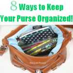 8 Ways to Keep Your Purse Organized