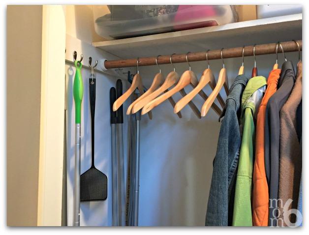 Coat Closet- room for guest coats