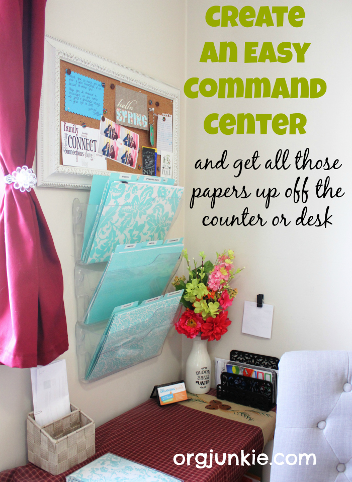 Create An Organized Command Center For Your Home