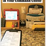 5 Things You Need In Your Kitchen Command Center