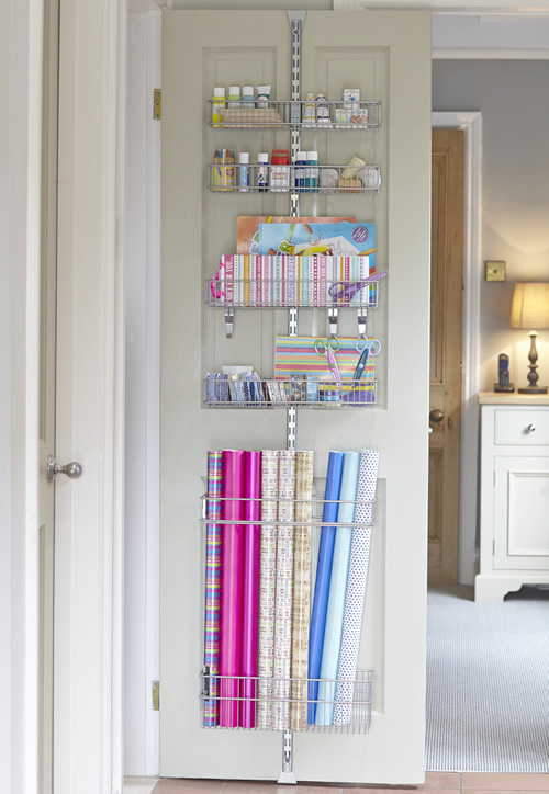 7 More Ways To Get Organized Using Doors