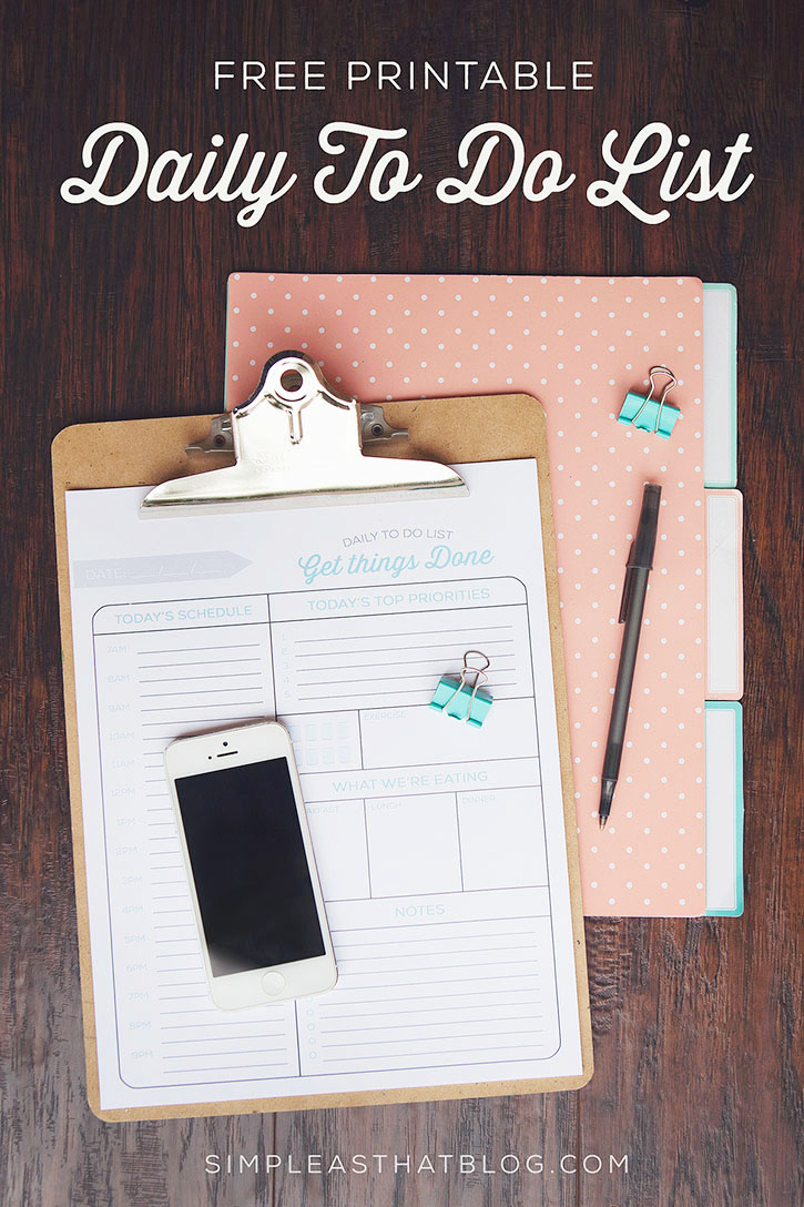 Friday Favorites: Free Printables, Packing with Kids, List Making Apps ...