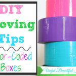 DIY Moving Tips, Color Coded Boxes