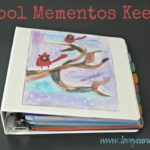 DIY School Mementos Keeper