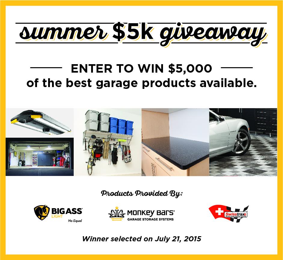 $5,000 Dream Garage