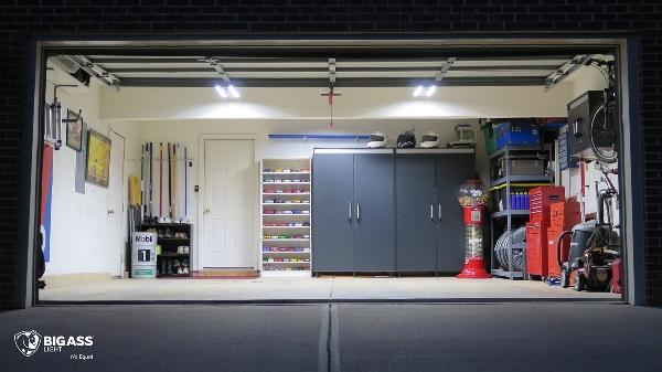 large garage lighting ideas | Get Your $5,000 Dream Organized Garage- For Free!