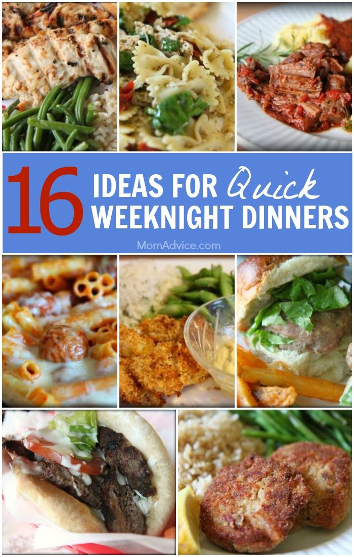 Menu plan monday aug 10 15 for Ideas for dinner menu
