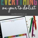 How to Finish Everything on Your To Do List