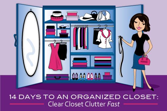 14 Days to an Organized Closet