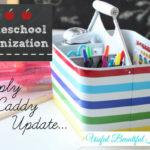 HomeschoolOrganizationCaddyUpdate