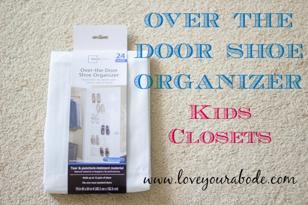 The Following Is A Guest Post From Regular Contributor, Yuni At Love Your  Abode. Over The Door Shoe Organizer For Kids Closet