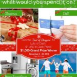 How Would You Spend $1000? – Huge Giveaway!!