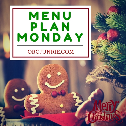 Menu Plan Monday for the week of Dec 21/15...recipe links and menu planning inspiration!!