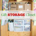Gift Storage Armoire