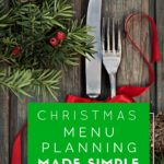 Christmas Menu Planning Made Simple + Free Printable