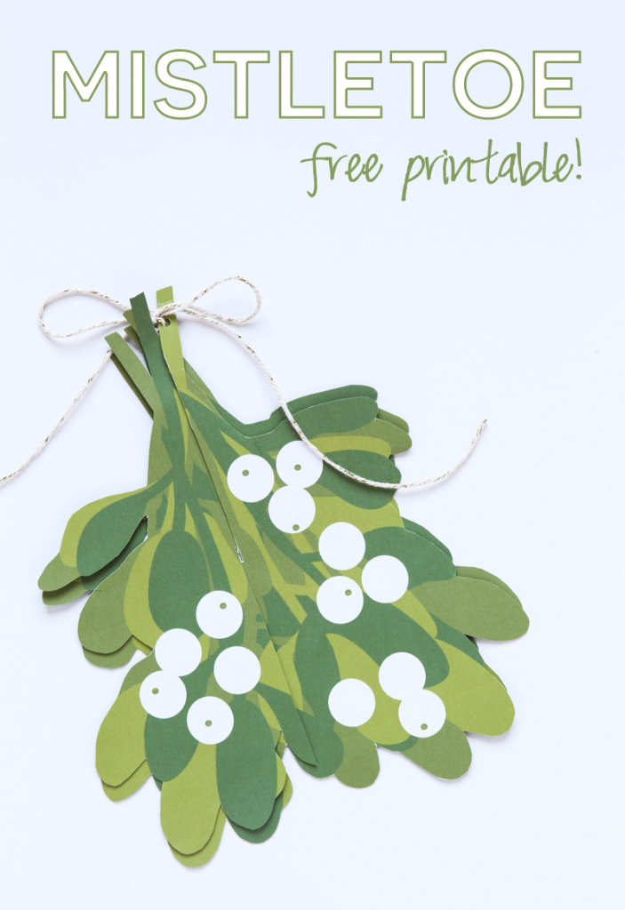 Free-Printable-Mistletoe