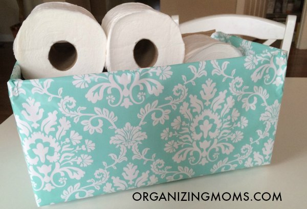 DIY Organization U2013 Easy, Inexpensive Storage Bins