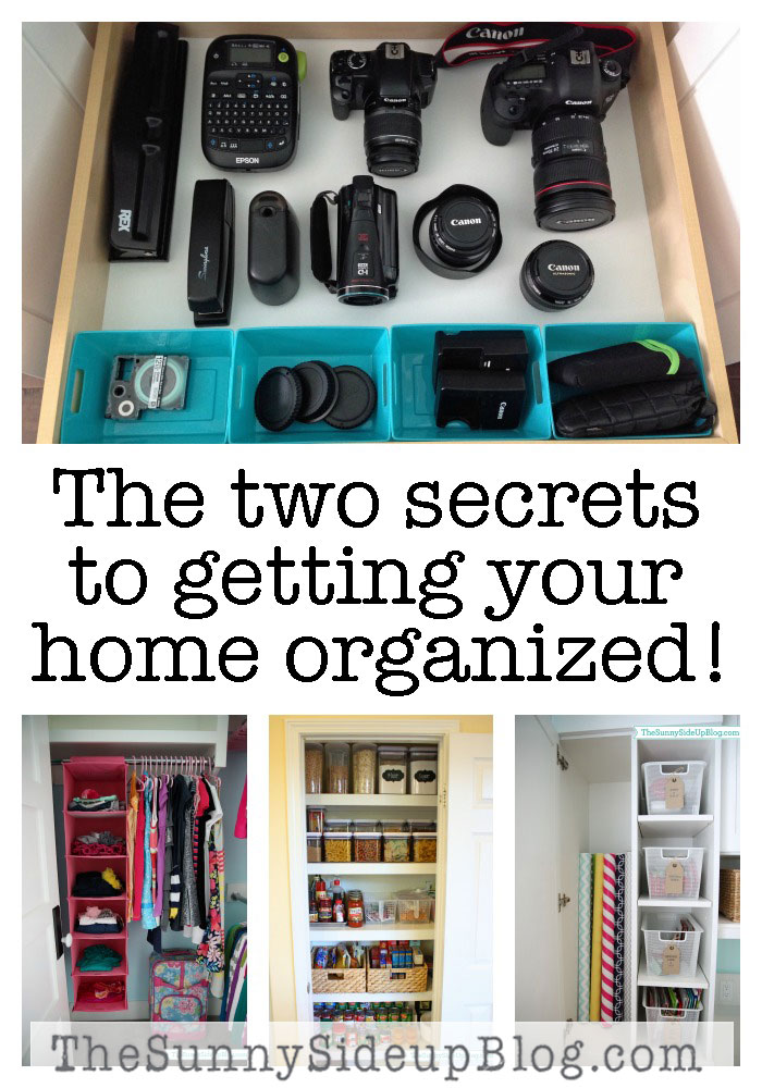 2-secrets-to-getting-your-home-organized