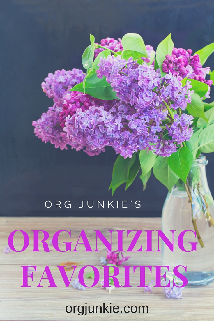 Org Junkie's Organizing Favorites for Jan 29/16