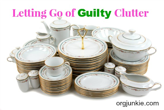 Letting Go of Guilty Clutter