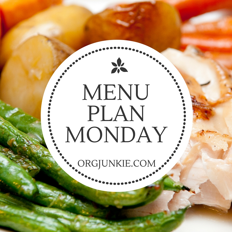 Menu Plan Monday for the week of March 14/16 - menu planning recipe ideas and inspiration!