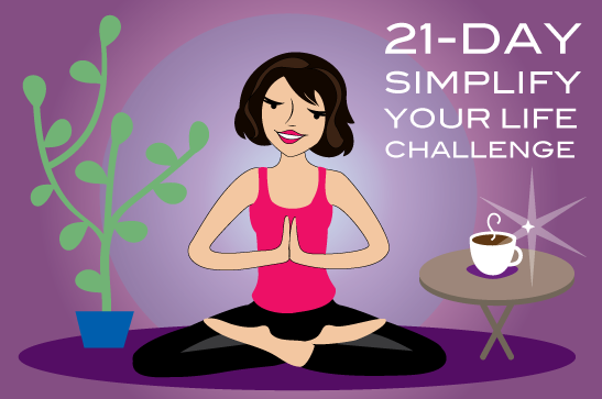 21 Day Simplify Your Life Challenge