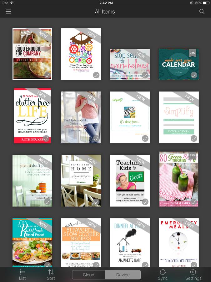 Ultimate Homemaking eBook Organizing Bundle