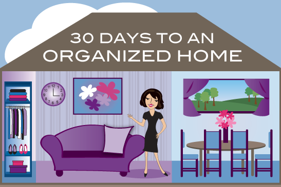 30 Days to an Organized Home 1