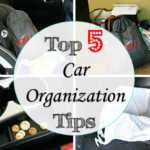 top 5 car organization tips