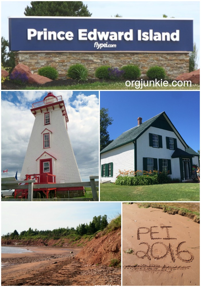 Prince Edward Island Vacation 2016